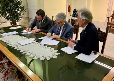 Firmât il protocol di intese tra la ARLeF – Agjenzie Regjonâl Pe Lenghe Furlane e il comun di Udin